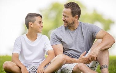 Нужные мужские разговоры папы и сына