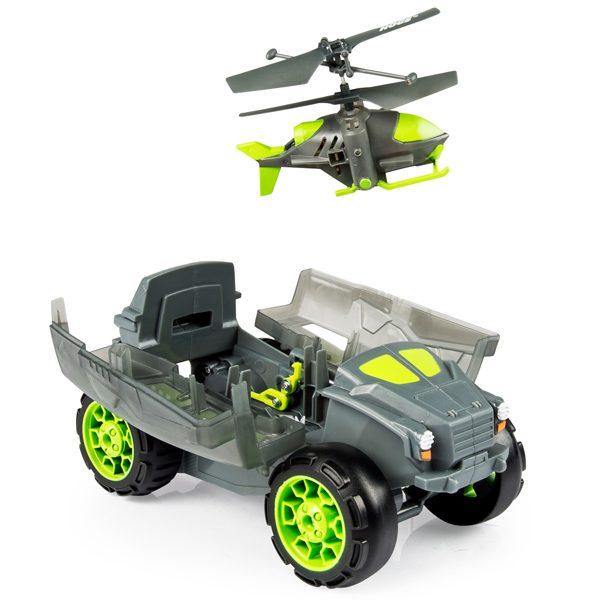 Air Hogs Бронемашина с вертолетом-разведчиком набор на радиоуправлении Spin Master