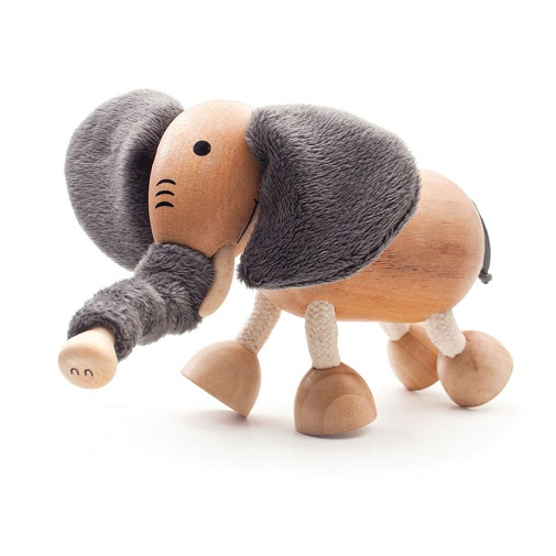 AnaMalz Фигурка деревянная Слоненок