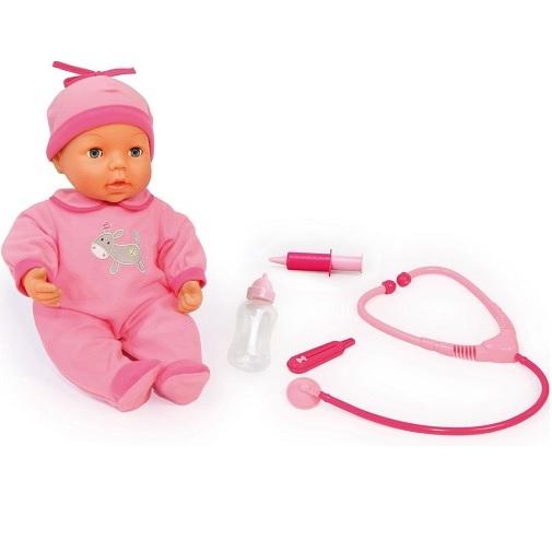 Bayer Design Игровой набор Малыш у доктора с куклой