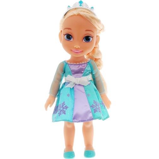 Disney Frozen Кукла Малышка Эльза цвет платья светло-бирюзовый сиреневый