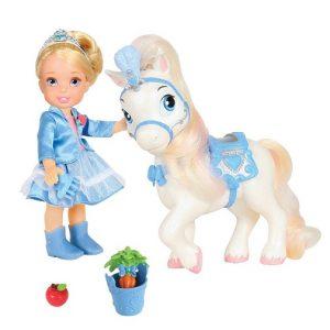 Disney Princess Игровой набор с мини-куклой Золушка и Пони