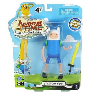 "Фигурка Adventure Time ""Stretchy Finn"", с мечом"