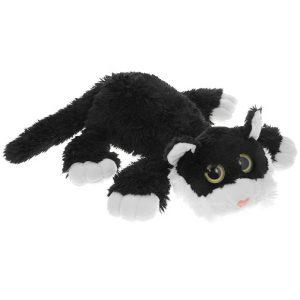 Gulliver Мягкая игрушка Котик Шалунишка черный 30 см