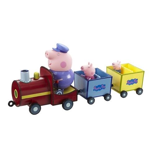 Игровой набор Паровозик дедушки Пеппы со звуком Peppa Pig