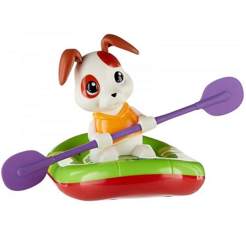 Игрушка для ванной Щенок на лодке Tomy E72424
