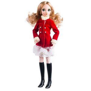 Кукла Daily Collection в красном пальто Sonya Rose R4326N