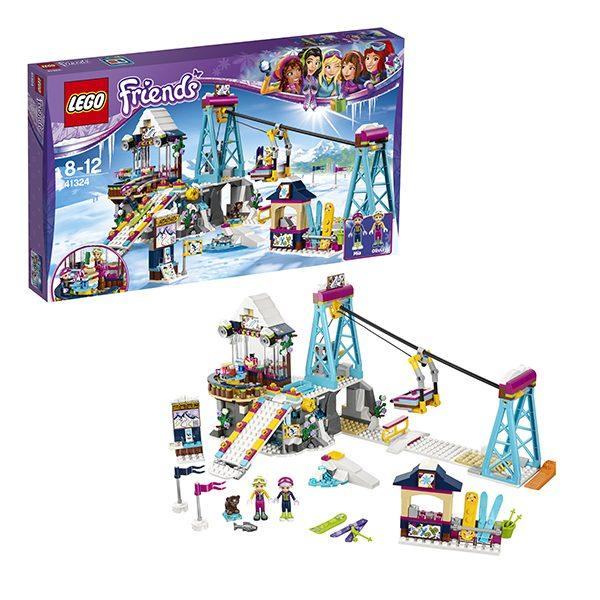 LEGO Friends Конструктор Горнолыжный курорт Подъемник 41324
