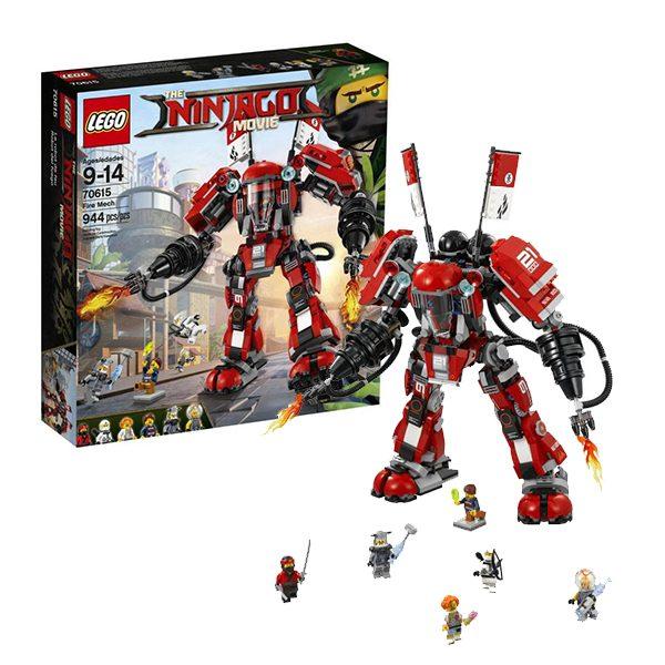LEGO NINJAGO Конструктор Огненный робот Кая 70615