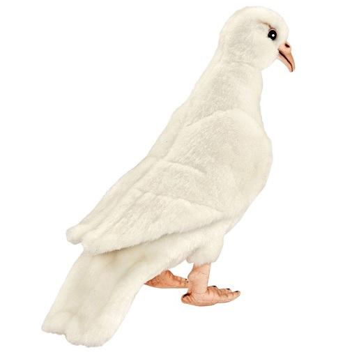 Мягкая игрушка Hansa Белый голубь 20 см