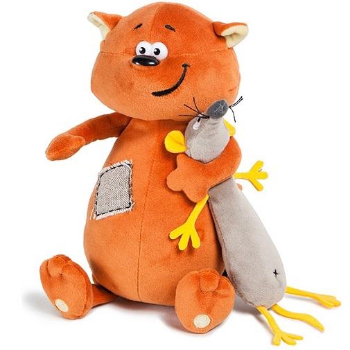 Мягкая игрушка Котэ & Mouse 25 см ДуRашки