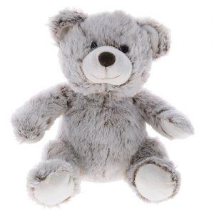 Мягкая игрушка Медвежонок Тоша 30 см Серый Gulliver