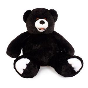 Мягкая игрушка Мишка Патрик цвет черный 85 см Три мишки
