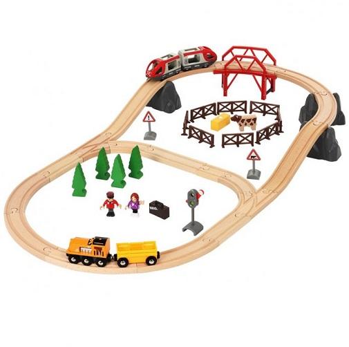 Набор Железная дорога в сельской местности Brio 33916