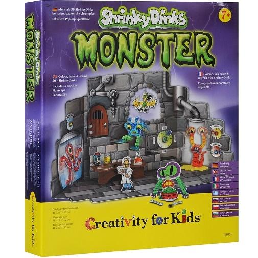 """Набор для творчества """"Монстры Shrinky Dinks"""""""