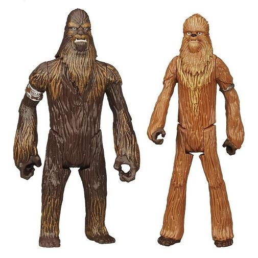 Набор фигурок Star Wars Wullffwarro и Wookiee Warrior, 2 шт
