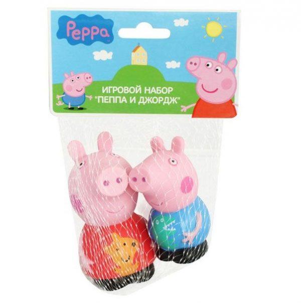 Peppa Pig Игровой набор Пеппа и Джордж