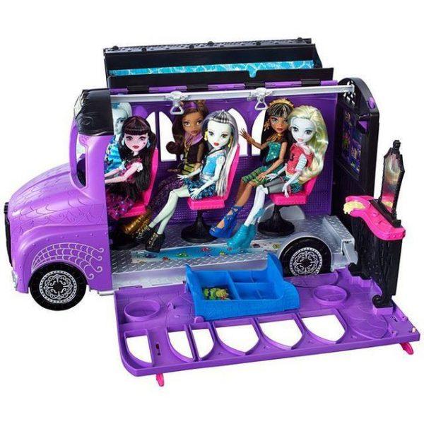 Школьный автобус Монстер Хай Транспорт для кукол Monster High Mattel FCV63