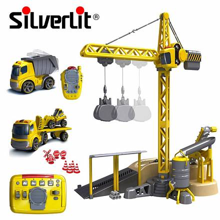 Silverlit Мега стройка Набор машин на инфракрасном управлении