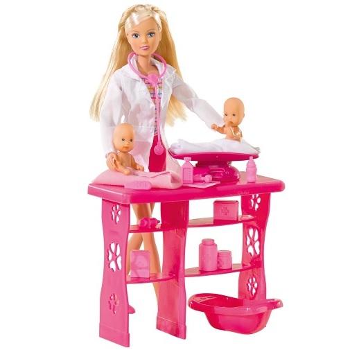 Simba Игровой набор с куклой Штеффи детский доктор