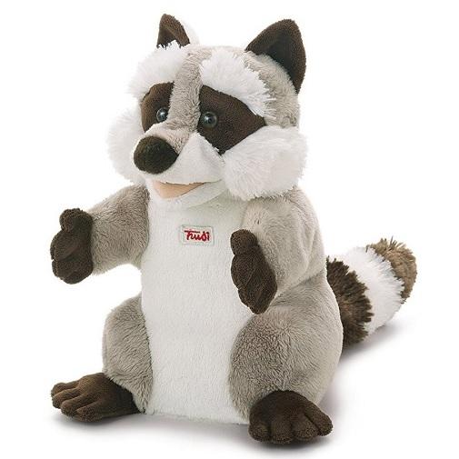 Trudi Мягкая игрушка на руку Енот 25 см