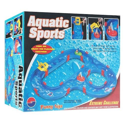 """Игровой набор Кораблик XL """"Водная трасса"""" Concord Toys"""