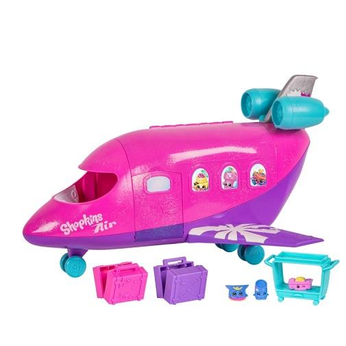 Игровой набор Самолет Шопкинс Shopkins Moose