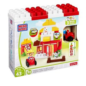 Конструктор Mega Bloks Друзья на ферме First Builders Fisher Price DPJ57