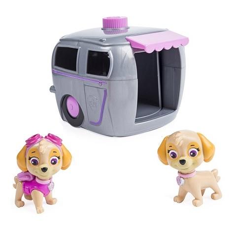 Paw Patrol Игровой набор Два щенка Скай в домике