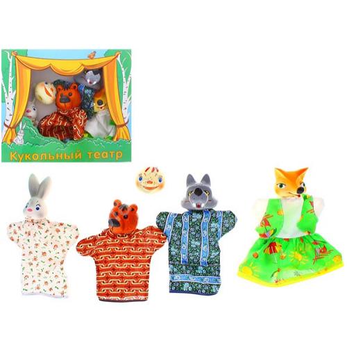 Sima-land Набор мягких игрушек на руку Колобок 5 персонажей 534032