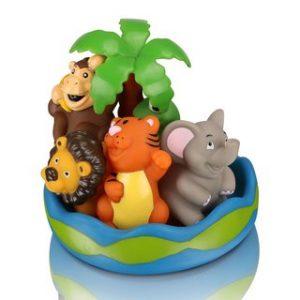 Игровой набор для ванны Mioshi Чудесный остров (6 шт.)