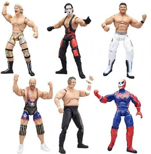 Игрушка Боец Рестлера (Реслинг) TNA Wrestling Deluxe Impact Series