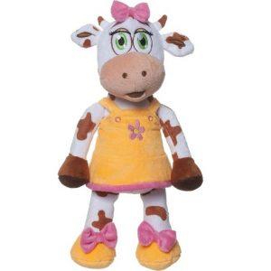 Мягкая игрушка Comx Корова Bella 32 см Оранжевая
