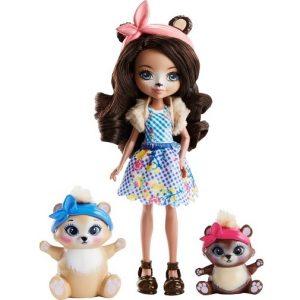Enchantimals Игровой набор Кукла со зверушкой FCC62_FCC64