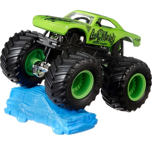 Hot Wheels Monster Jam Трековая машинка Gas Monkey Garage
