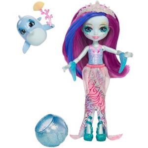 Игровой набор Enchantimals с куклой Морские подружки с друзьями
