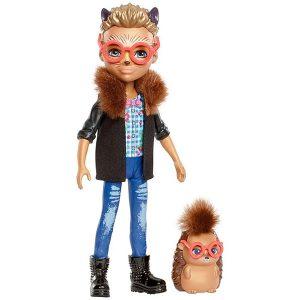 Игровой набор Кукла со зверюшкой Хиксби Ежик Enchantimals FNH22_FJJ22