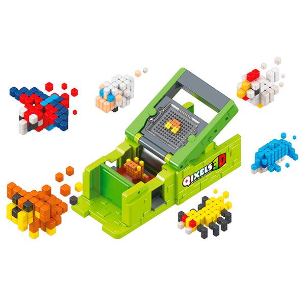 "Qixels 87053 Набор для творчества Квикселс Машинка для создания 3D фигурок ""3D Принтер"""