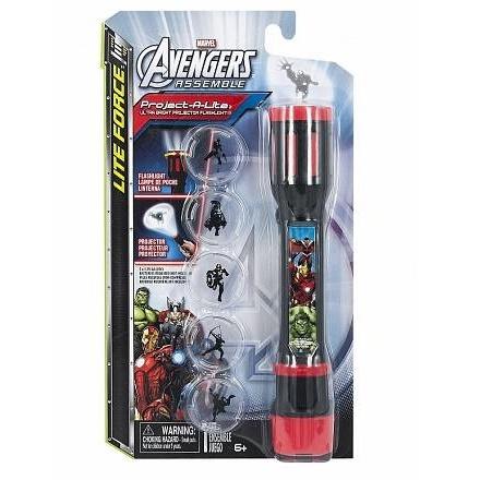 Фонарик-проектор 3 в 1 Avengers Marvel