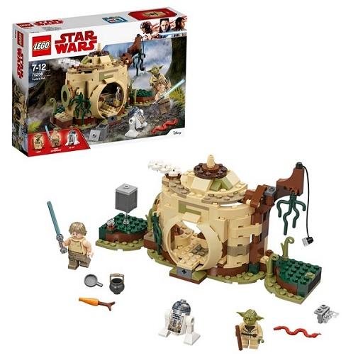 Игрушка Домик 75208 Хижина Йоды Конструктор LEGO Star Wars