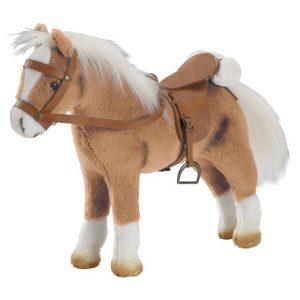 Интерактивная Лошадь Хафлингер Транспорт для кукол Gotz