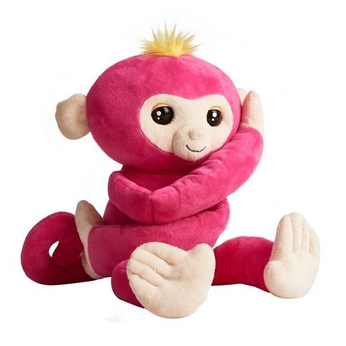 Мягкая игрушка Обезьянка Обнимашка Белла интерактивная Fingerlings HUGS Wowwee
