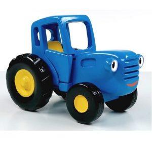 Игрушка Синий трактор Гоша из мультика 23 см WoodenToys
