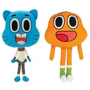 Мягкие игрушки Удивительный мир гамбола Уоттерсон и Дарвин Gumball STUFF TOY