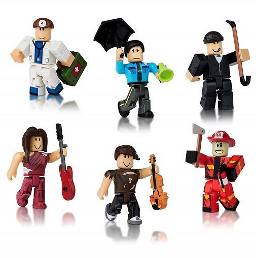 Игрушки Роблокс набор фигурок Жители города 6 штук Roblox