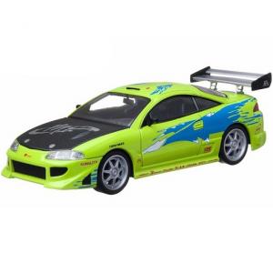 """Игрушка зеленая машина Брайана """"Форсаж"""" Mitsubishi Eclipse 1995"""