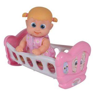 Кукла Бони 16 см с кроваткой Bouncin' Babies 803002