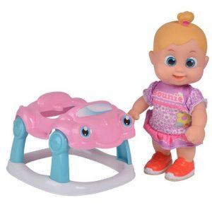 Кукла Бони с машиной, 16 см Bouncin' Babies 803001