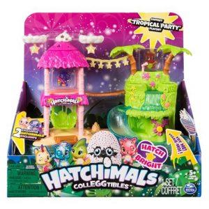 Игровой набор Тропическая вечеринка Hatchimals CollEGGtibles Tropical Party