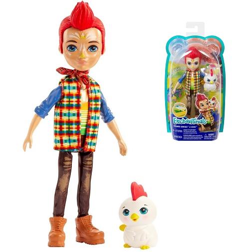 Кукла мальчик Редвард с петушком Redward Rooster & Cluck Enchantimals